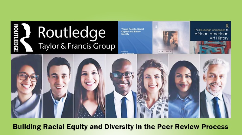 We're working to build racial equity in the peer review process: https://t.co/g61vFz26vL special invitation to academics of colour from @routledgebooks @tandfonline https://t.co/0v1jX01xjI
