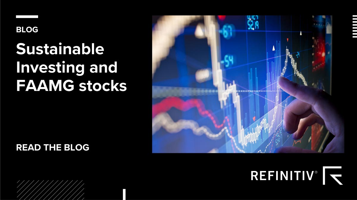 #SustainableInvesting: @Refinitiv's Robert Jenkins explains why tech, such as #FAAMG stocks, is so popular in #ESG funds. https://t.co/0rxDkVjJLw #SustainableLeadership https://t.co/gS5pc7m7Lr