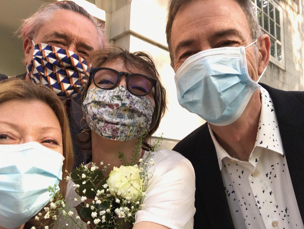 Mariam and I got a civil partnership. Very happy day. 💗 https://t.co/vFmnsqsPAL