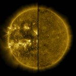 Image for the Tweet beginning: #SolarCycle25 has begun. During a