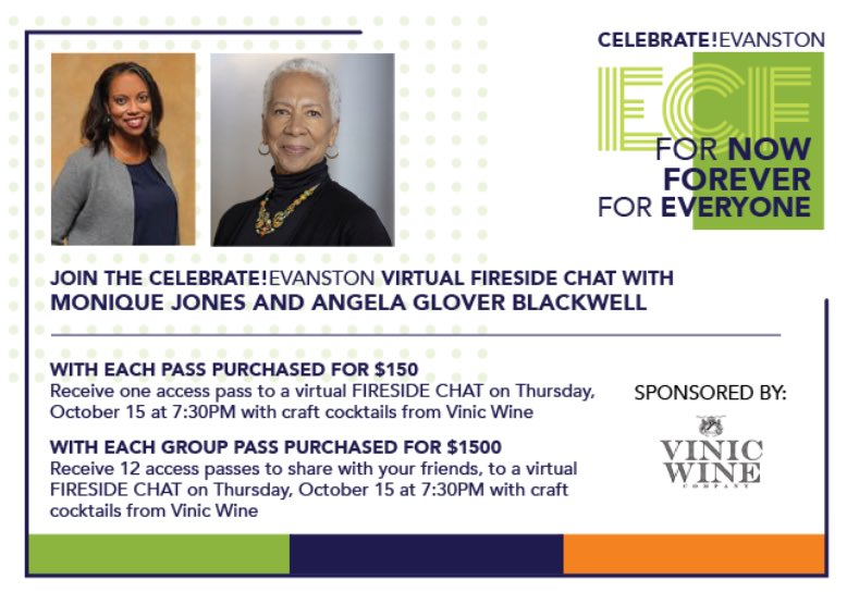 I'm humbled to hold TWO conversations with @agb4equity Angela Glover Blackwell. Join me for a live Fireside Chat with her on October 15th. We're talking all things equity and your participation is welcome. https://t.co/xAte9lEaUi