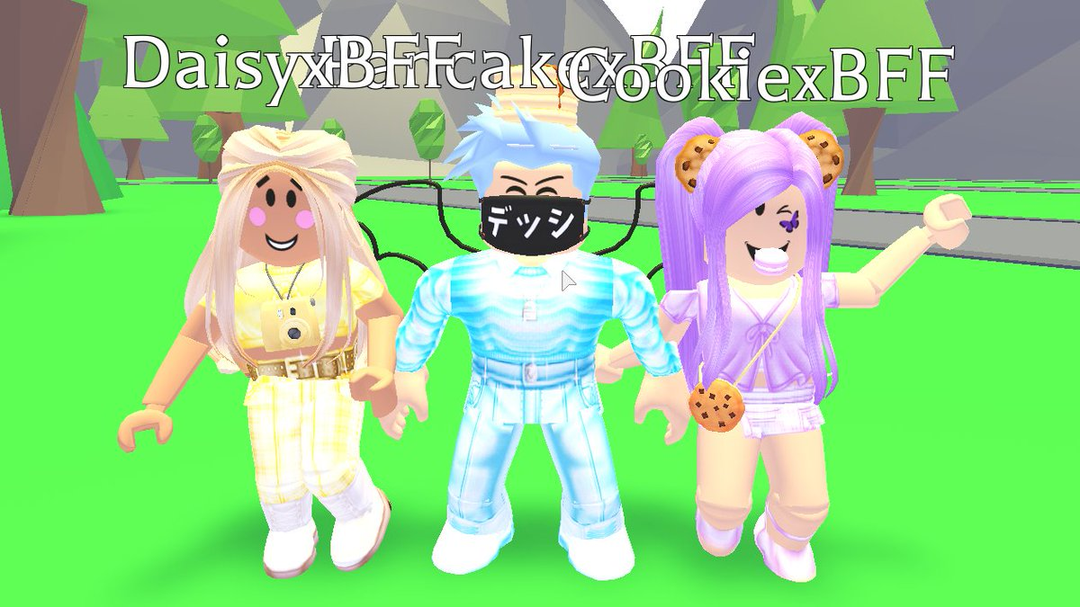 Outfit Megan Plays Roblox Avatar Megoon On Twitter We Got Some New Bff Squad Outfits If You Want To Dress Like Anyone From The Bff Squad The Outfits Are In Our Group Https T Co Annxaarvfz Thank You
