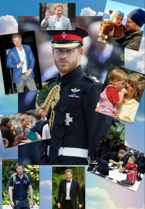 Happy Birthday Prince Harry! The WORLD loves and supports you.