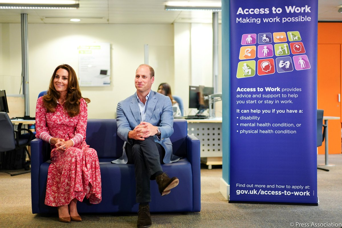 Today The Duke and Duchess of Cambridge visited communities, businesses and individuals in London Bridge and Whitechapel to thank those who have gone above and beyond to help others during this extraordinary time. royal.uk/duke-and-duche…