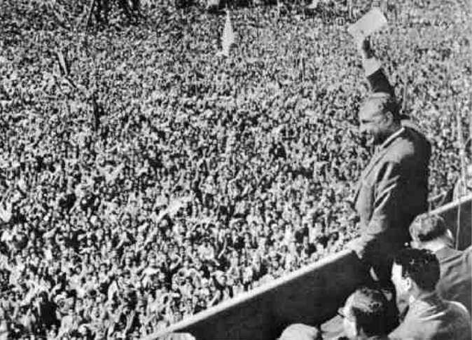 """""""إن الحق بغير القوة ضائع، والسلام بغير مقدرة الدفاع عنه إستسلام"""" جمال عبد الناصر https://t.co/pYtnlwmg68"""