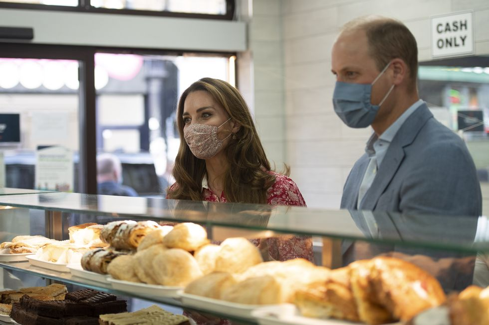 "The Duke and Duchess of Cambridge's tweet - ""Today The Duke and Duchess of Cambridge visited communities, businesses and individuals in London Bridge and Whitechapel to thank those who have gone above"