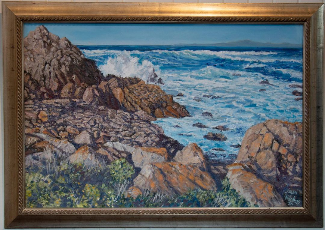 "Raton's 44th Annual InBank Art Sale and Exhibit is live! Purchase one of a kind art here: https://t.co/IfEtoLvImZ (Photo: ""Carmel Coast, California"" by Sam Hughes) #NMArts #NMMainStreet #NMEcon #NewMexicoTrue https://t.co/6w5m9o2CUx"