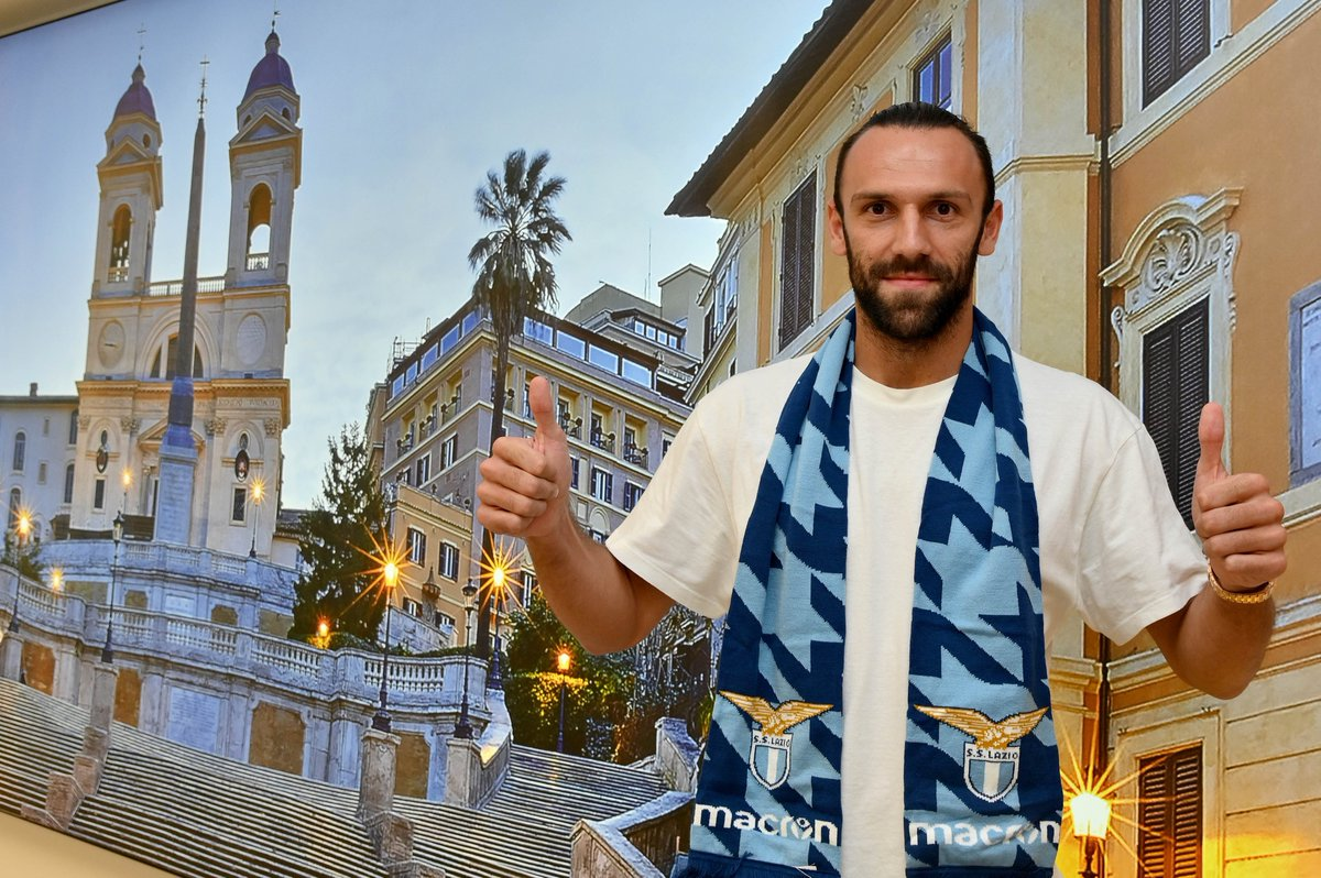 Coming 🔜 to the #UCL 👍  Vedat Muriqi joins Lazio from Fenerbahçe ✍️ https://t.co/FHCa7lQj4u