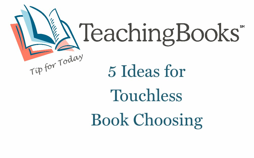 test Twitter Media - Tip of the Day - 5 ideas for Touchless Book Choosing  Whether you organize curbside pick up, take a cart into classrooms, or still allow readers to explore options in your library, we have 5 ideas to hook readers and help them choose titles to read.  https://t.co/k6CT4ElLzZ https://t.co/8gKGG5RSSj