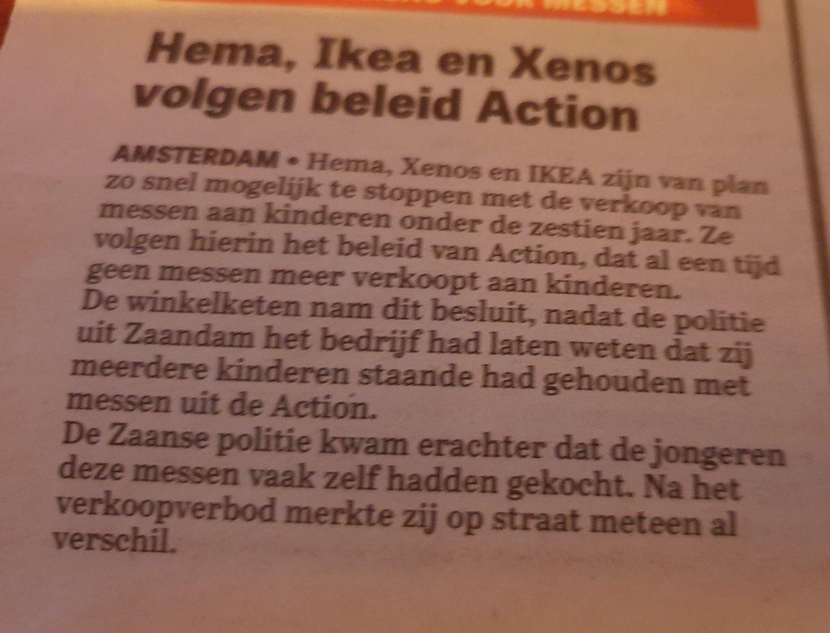 Goede zaak. #action #ikea #hema #xenos #messenverkoop https://t.co/DX4iEUdRsJ