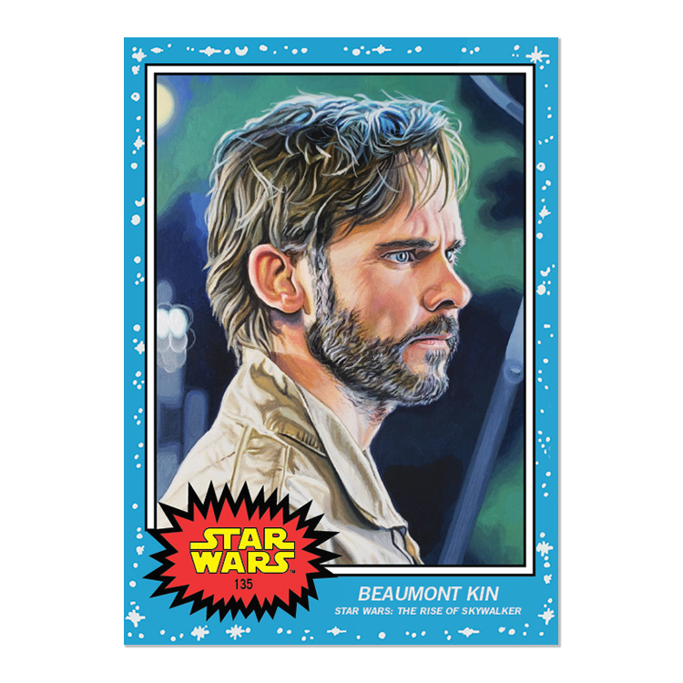 New #ToppsStarWarsLiving cards!  #135 Beaumont Kin, Star Wars: The Rise of Skywalker #136 Pre Vizsla, Star Wars: The Clone Wars  (Still waiting on a print run for Chancellor Vallorum from a few weeks ago to be able to update stats!) https://t.co/njlIAy3rOU