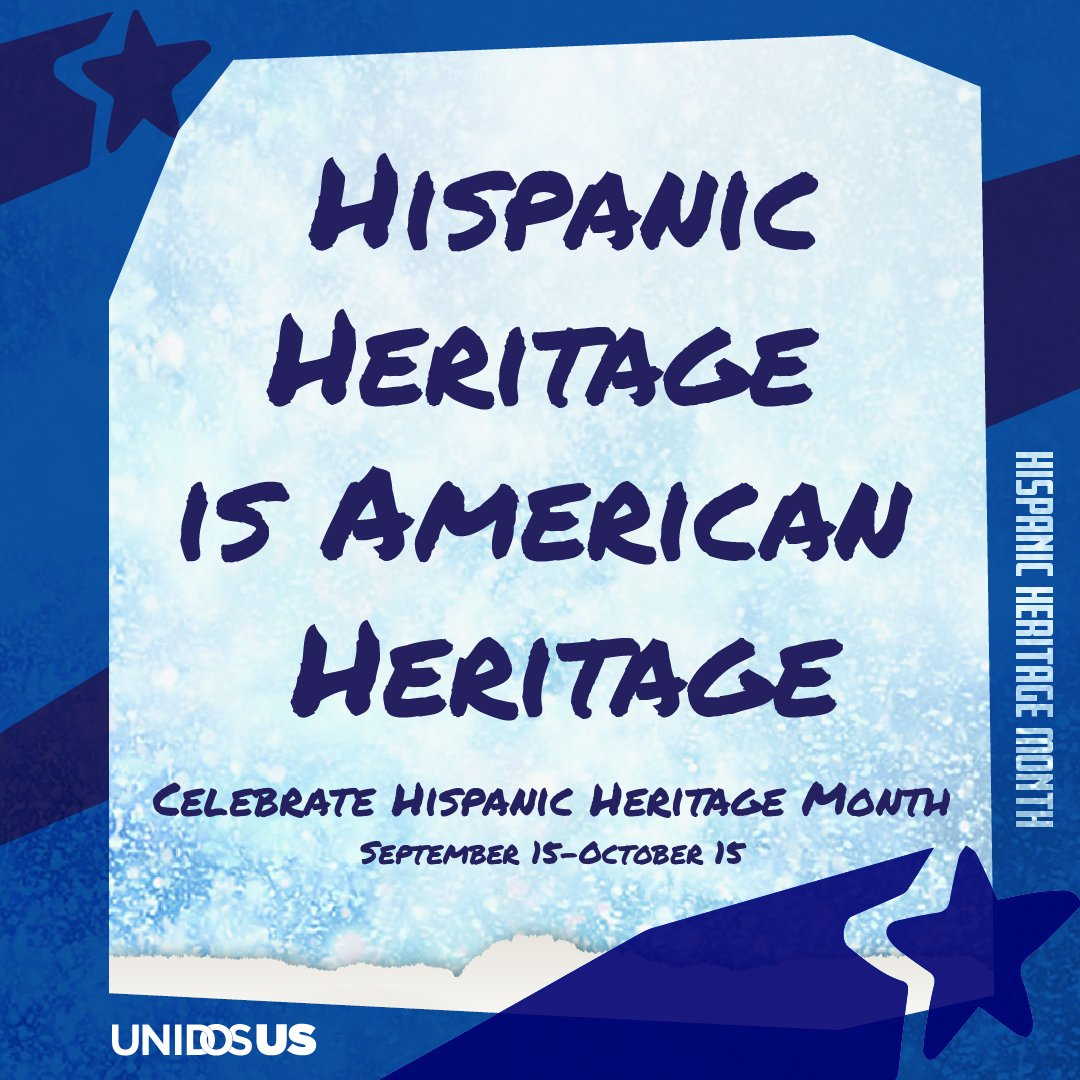 Latinos have contributed to this country for generations. And we're an important part of making America work today. This #HHM2020 and always, Hispanic heritage IS American heritage. https://t.co/GpeTxN06OS