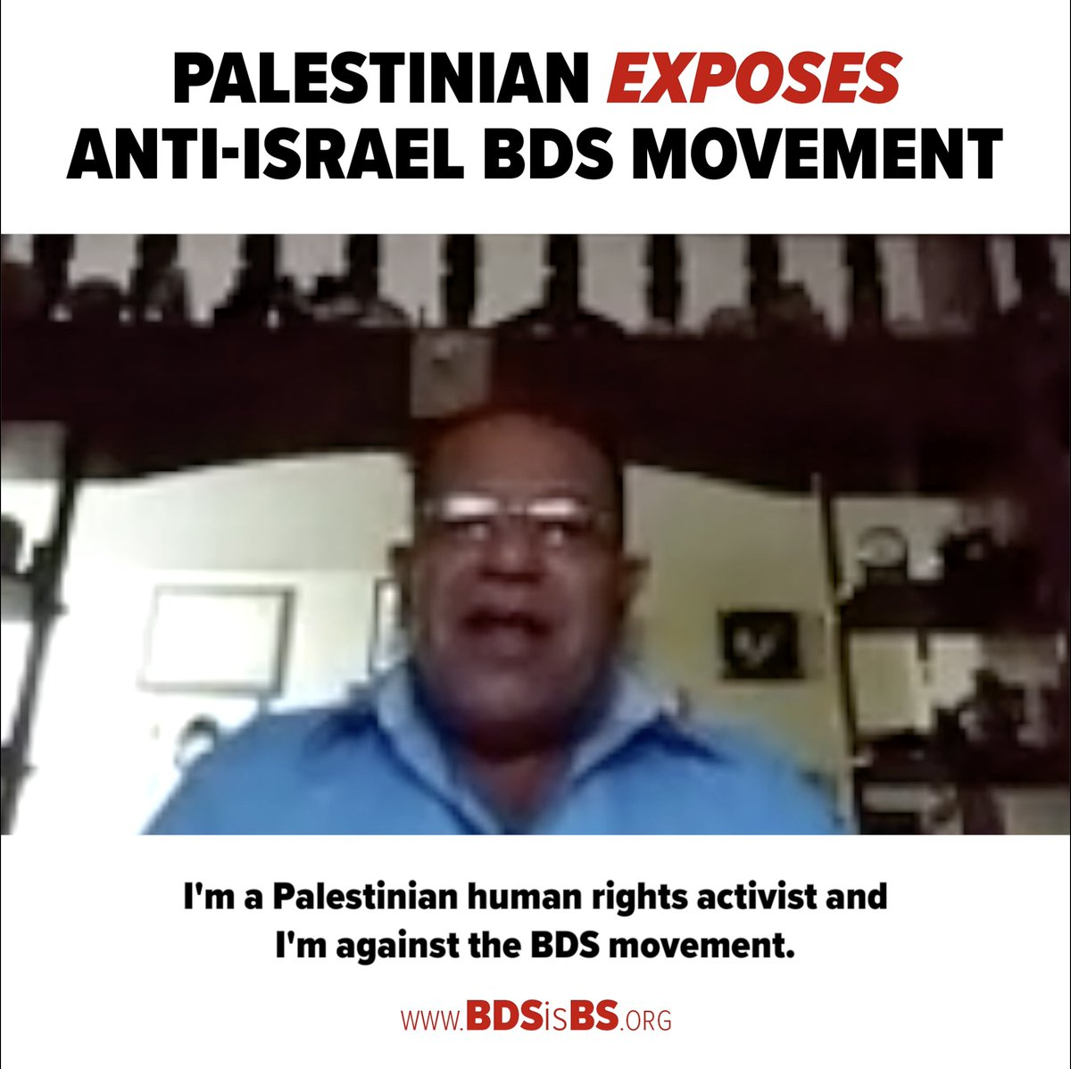 Palestinian Bassem Eid grew up in a refugee camp & saw the Israeli–Palestinian conflict firsthand. He has a message for the world to hear: The Israelis are NOT to blame. @Columbia University will be voting on BDS. Please RT Eids video – every Columbia student must see this.