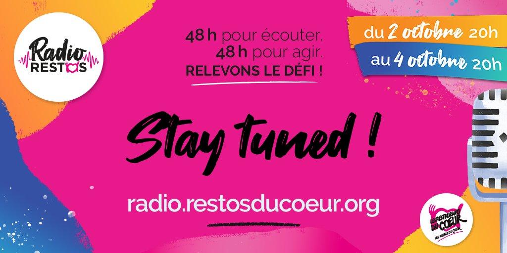 Vous faites quoi le weekend du 02 au 04 octobre ? Nous, on soutient les Restos ! 💪 👇👇👇👇👇👇👇👇👇👇
