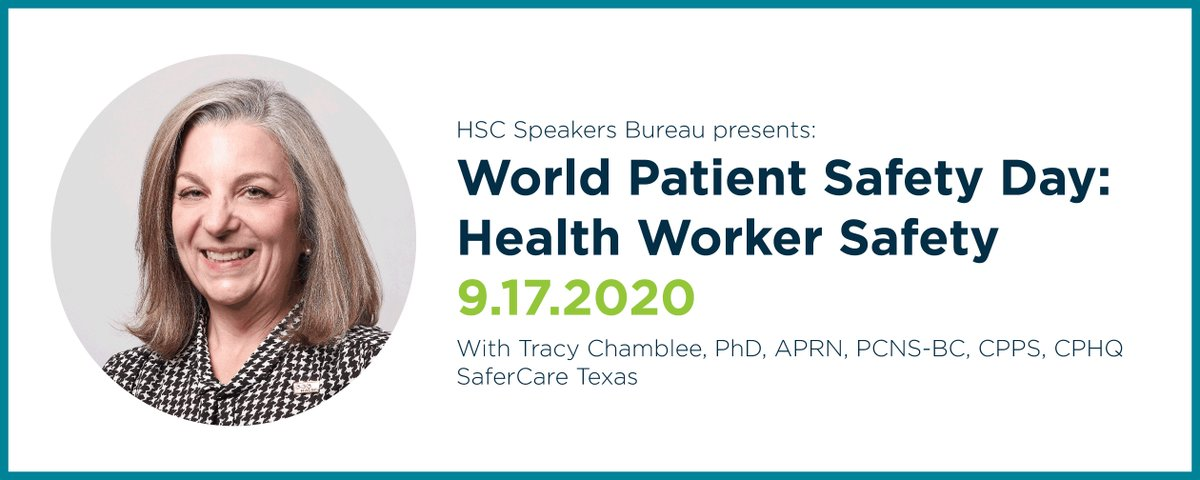 It's almost here – #WorldPatientSafetyDay! Join our Clinical Executive on Thursday as she discusses this year's theme - Health Worker Safety. Learn how prioritizing the health of our healthcare workers benefits everyone. Register here: https://t.co/2yvfWeWA2t #PatientSafety https://t.co/z2g4GUVTZR