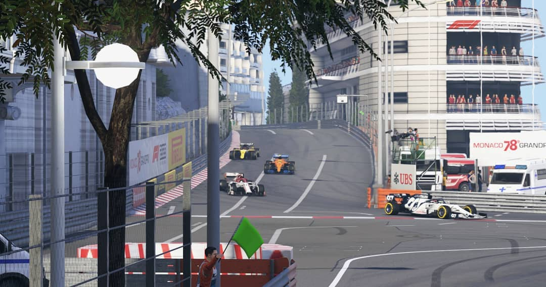 Round 7 results are now up! Next week we move onto Baku for more close street circuit action.  📸 craig.conlee ssrajmars07 zampaf1   #f1game #f12020 #league #leagueracing #formula1 #formulaone #esports #virtualgp #monaco #baku https://t.co/2KyK53lt9s