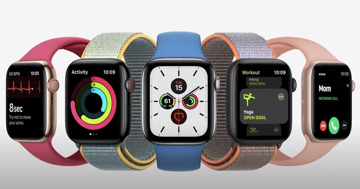 The first gadget talked about at today's AppleEvent? The Apple Watch