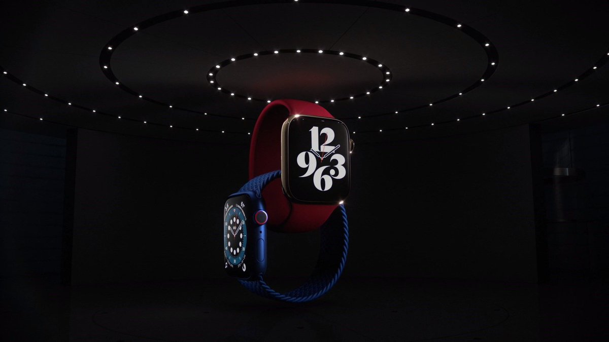 Apple announces Apple Watch Series 6 with ability to measure blood oxygen levels