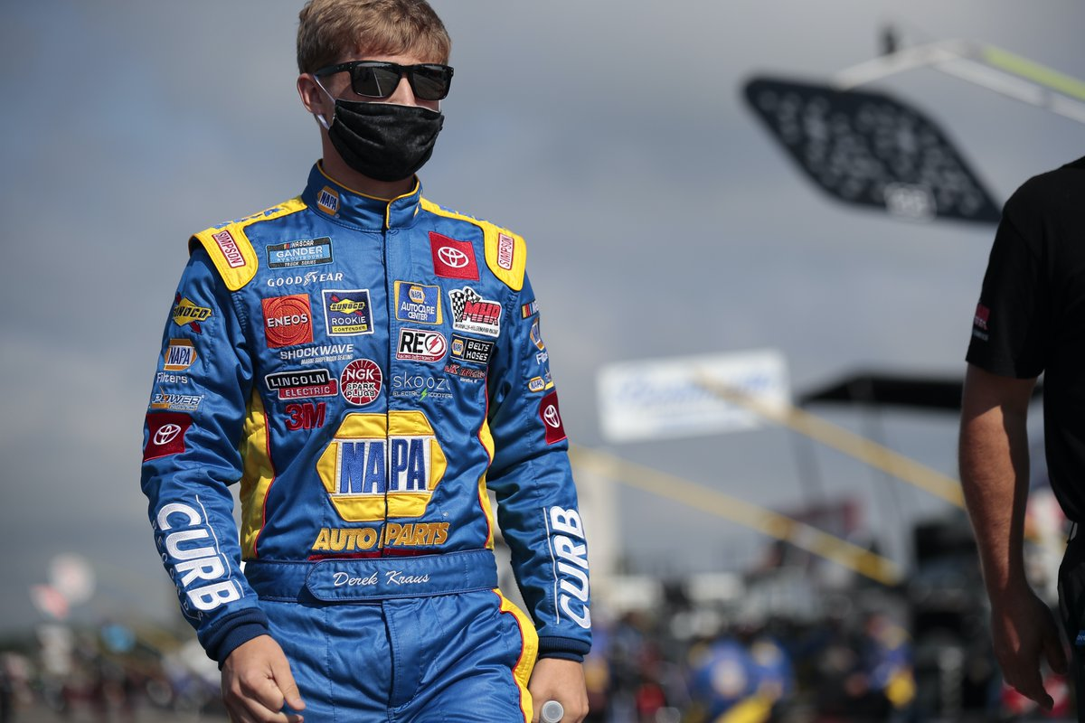 Familiar Tracks Ahead For Kraus In @NASCAR_Trucks  Series.  Full Story: https://t.co/L4s6ERj6hM  @BMR_NASCAR | @ToyotaRacing | @IncredibleBank @NAPAKnowHow | #TeamDK https://t.co/hqMOHTzCPN