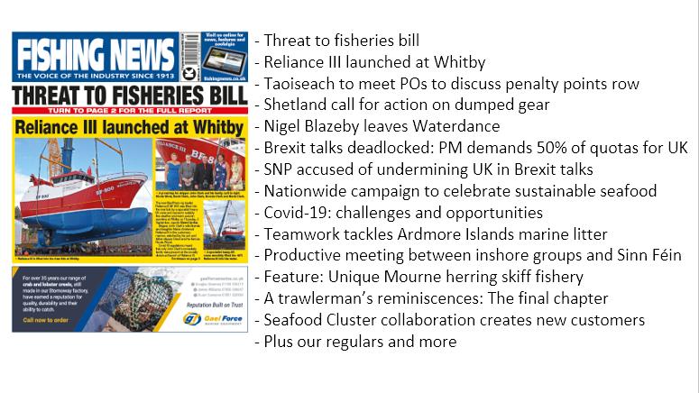 This week in Fishing News: https://t.co/OATiaa2OwI #fishermen #fishingnews #commercialfishing https://t.co/paGb4YDGEN
