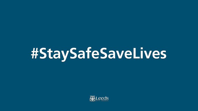 COVID-19 rates continue to rise in Leeds and stand at 75.5 per 100k and 6.5% positivity. Please do what you can to stay as safe as possible. #StaySafeSaveLives #togetherLeeds