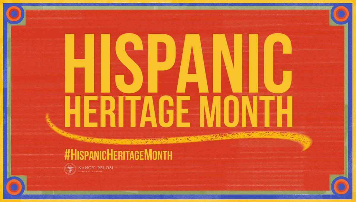@SpeakerPelosi's photo on #HispanicHeritageMonth