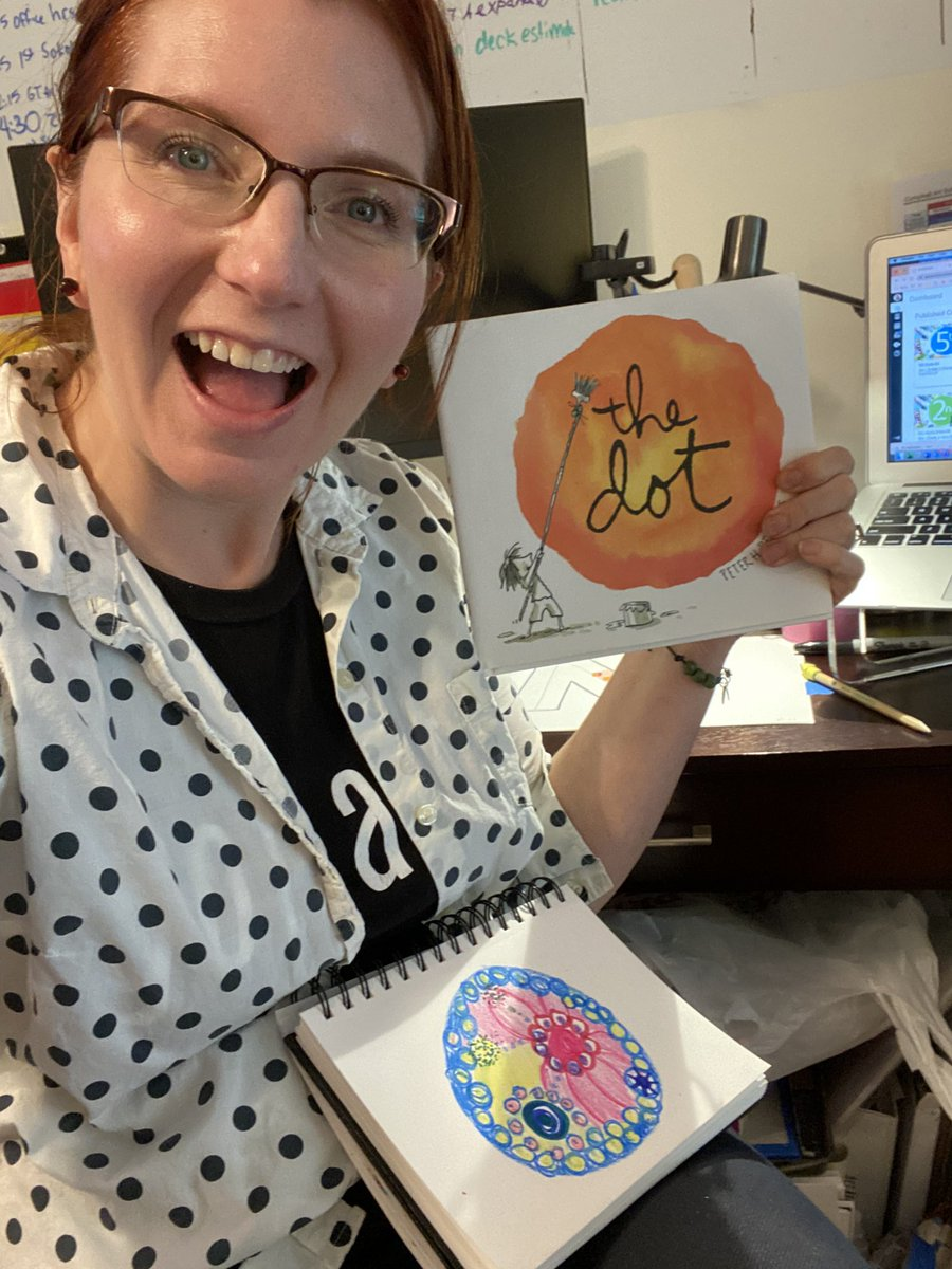 Happy <a target='_blank' href='http://search.twitter.com/search?q=DotDay2020'><a target='_blank' href='https://twitter.com/hashtag/DotDay2020?src=hash'>#DotDay2020</a></a>, artists! Thank you KG artists for making your mark with me this afternoon.  <a target='_blank' href='https://t.co/zXbI114Y2E'>https://t.co/zXbI114Y2E</a> <a target='_blank' href='https://t.co/D5lPO1H0en'>https://t.co/D5lPO1H0en</a> <a target='_blank' href='http://twitter.com/CampbellAPS'>@CampbellAPS</a> <a target='_blank' href='http://twitter.com/peterhreynolds'>@peterhreynolds</a> <a target='_blank' href='http://twitter.com/bibliobunny'>@bibliobunny</a> <a target='_blank' href='http://twitter.com/APSArts'>@APSArts</a> <a target='_blank' href='http://search.twitter.com/search?q=apsartsthrive'><a target='_blank' href='https://twitter.com/hashtag/apsartsthrive?src=hash'>#apsartsthrive</a></a> <a target='_blank' href='http://search.twitter.com/search?q=TheDot'><a target='_blank' href='https://twitter.com/hashtag/TheDot?src=hash'>#TheDot</a></a> <a target='_blank' href='https://t.co/OUfTwvojBV'>https://t.co/OUfTwvojBV</a>