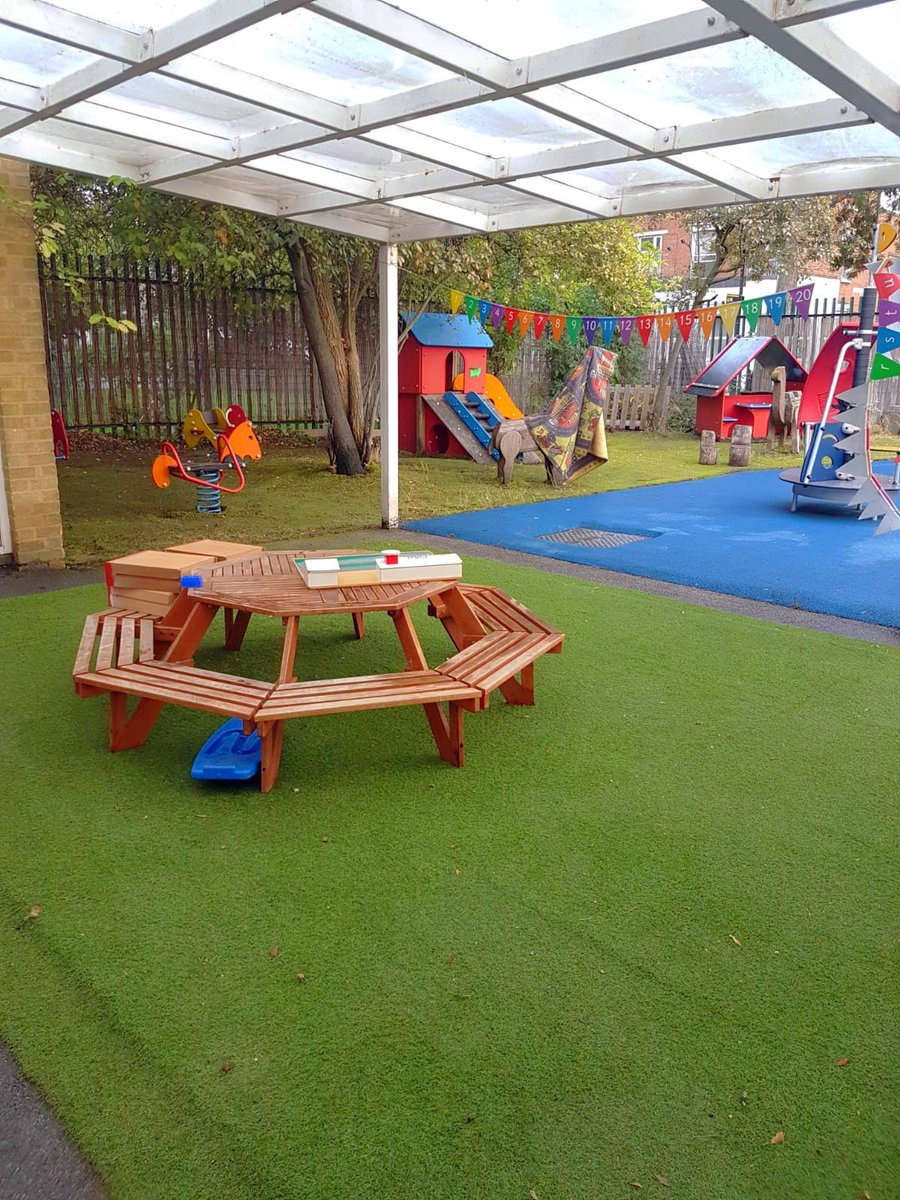 Incredible site staff have worked tirelessly and stayed well over their contracted times to make sure our Nursery is ready to receive our children tomorrow! #ThankfulForEverything #Grateful  #blessed Look! The outdoor areas looks stunning 🌻 https://t.co/87oM2PjASN