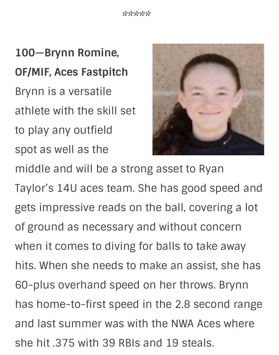 Let's go Brynn!! @ExtraInningSB @Los_Stuff #elite100 #100 https://t.co/XNEJ53sPYc https://t.co/S1bIjr02EI