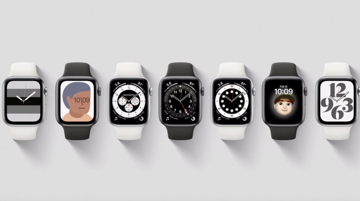 Apple Watch's faces are good