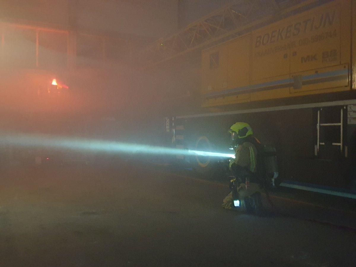 Melding brandweer Maasland