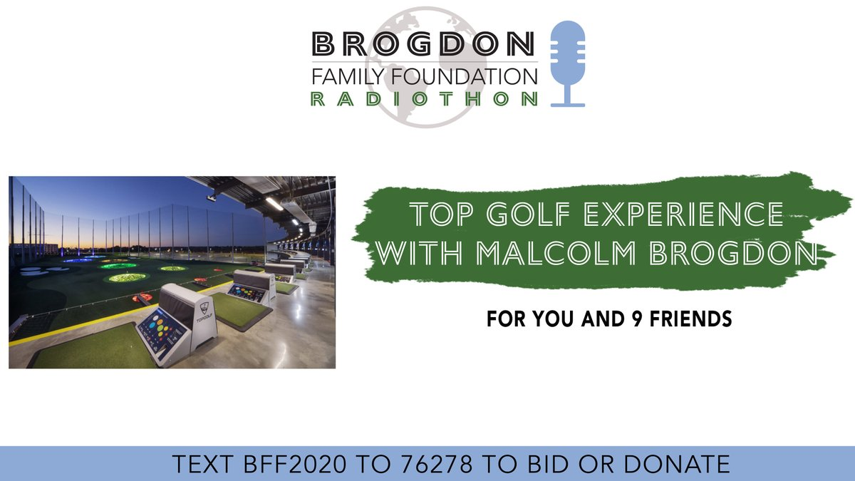 You and 9 friends have the chance to play at @Topgolf with @MalcolmBrogdon7! Win this incredible auction item and support a great cause! https://t.co/puLFVuKx8w https://t.co/QdjdPxpokF