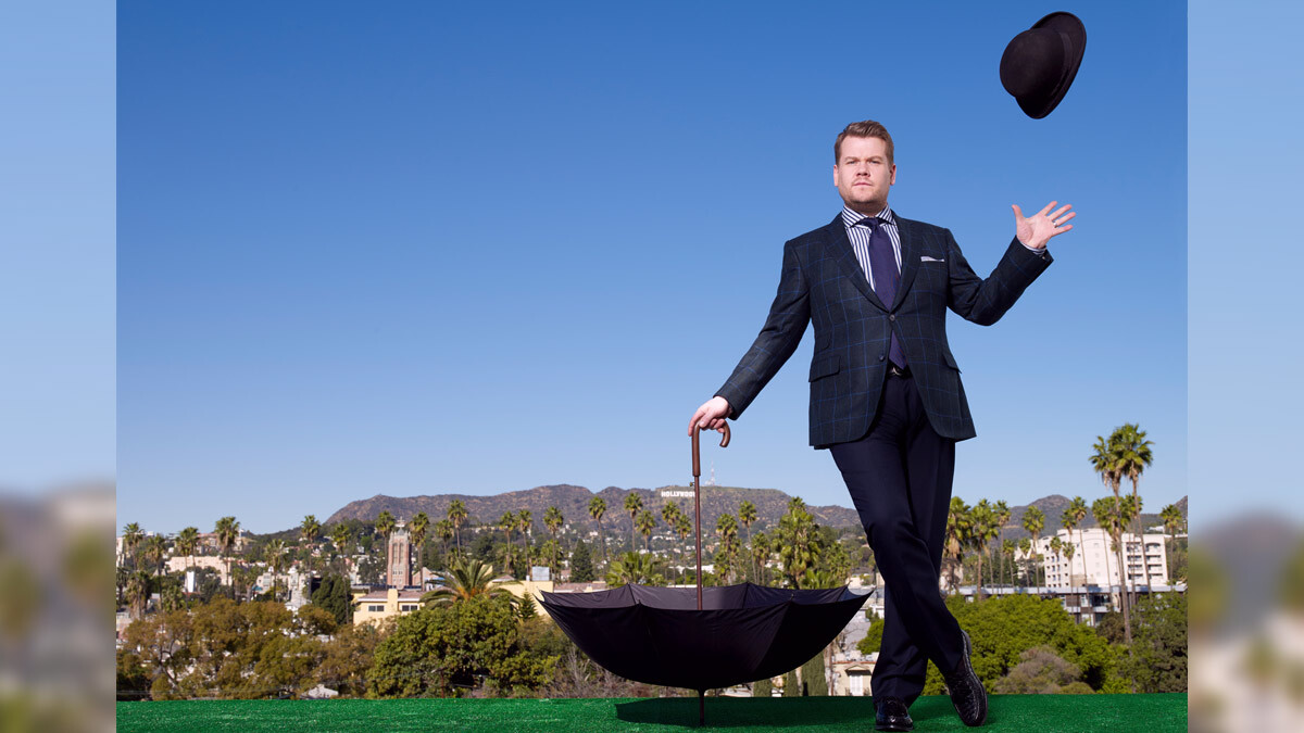 """From belting out Broadway tunes to spitting rhymes in rap battles, @JKCorden serves up musical gold on @latelateshow.  Here are 10 memorable song-and-dance moments that have us pressing """"Replay.""""👉https://t.co/bLnKKO9ubK  #LateLateShow #CBS #CBSTVStudios #CBSAllAccess https://t.co/TrVDlQp0L5"""