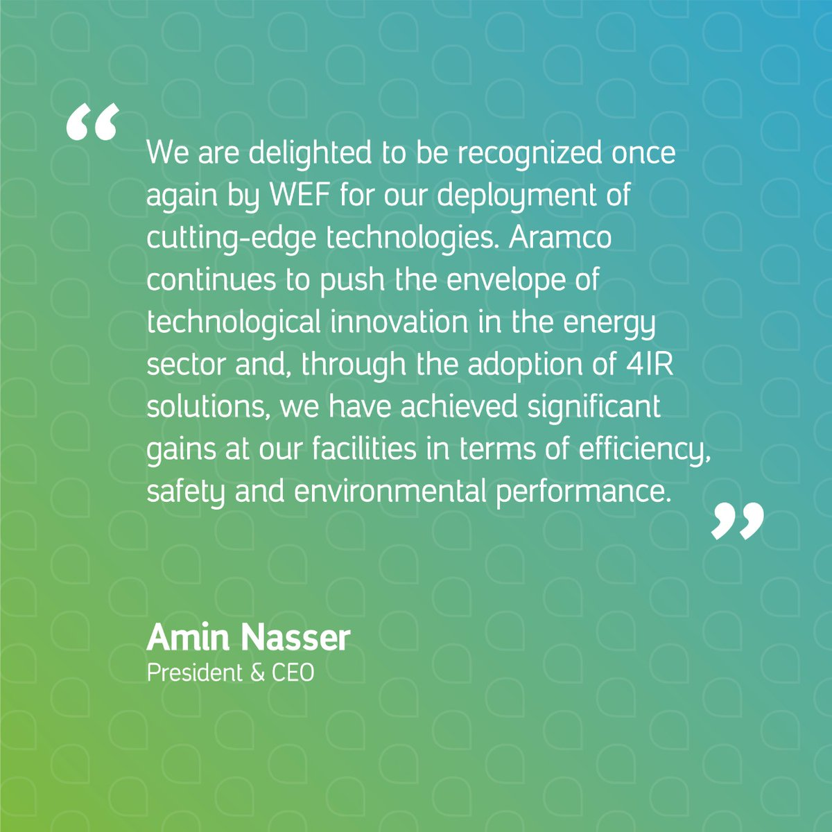 Khurais becomes second #Aramco facility to join prestigious WEF Global Lighthouse Network.  Learn more:  https://t.co/IacEhpl4qZ https://t.co/YaeyVXebUV