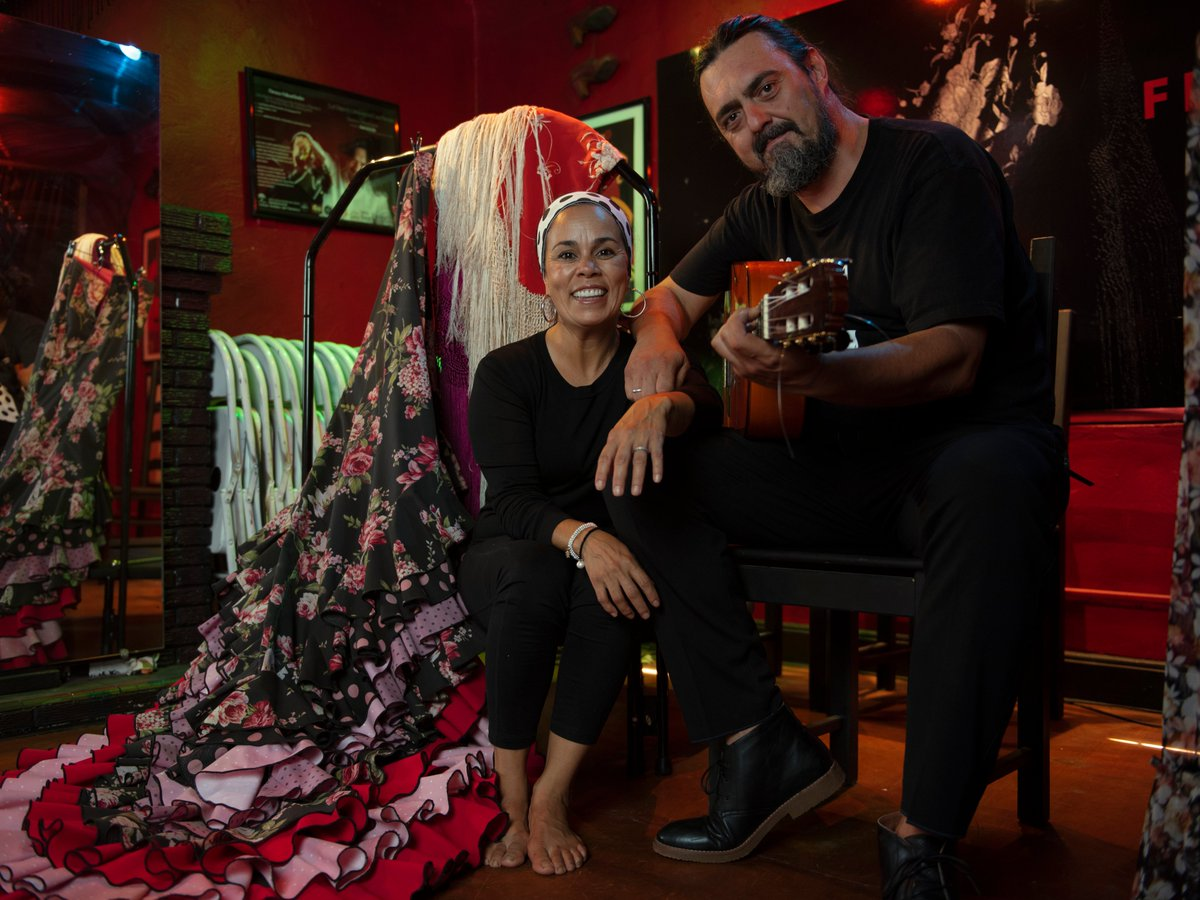Today is the first day of #HispanicHeritageMonth, and to kickstart our celebrations, we are highlighting one of Albuquerque's flamenco companies, Casa Flamenca. Experience their outdoor tablao series, Tablao al Aire. #TrueABQ 📷: Ryan Flanagan https://t.co/r4uTEZnWbM https://t.co/NJw00ThQSb