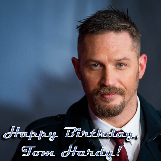 "Happy Birthday, Tom Hardy! The actor who played Bane in ""The Dark Knight Rises\"" is 43 years old today."