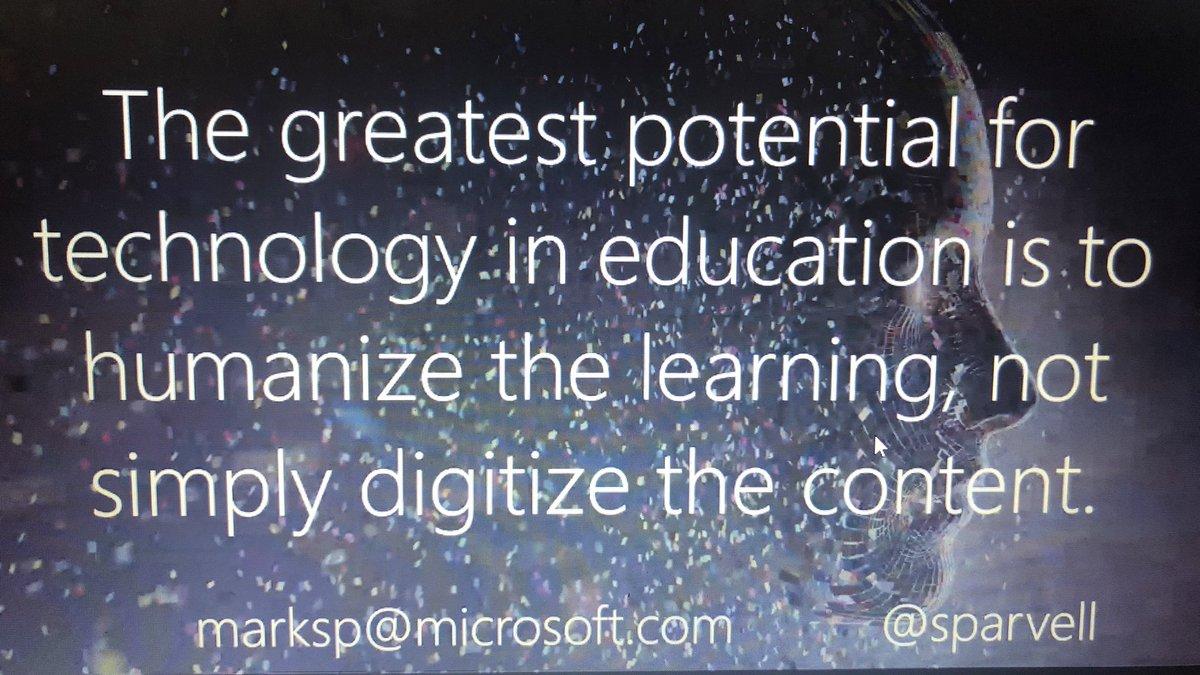 Thank you Mark @sparvell #MicrosoftEDU #MIEExpert
