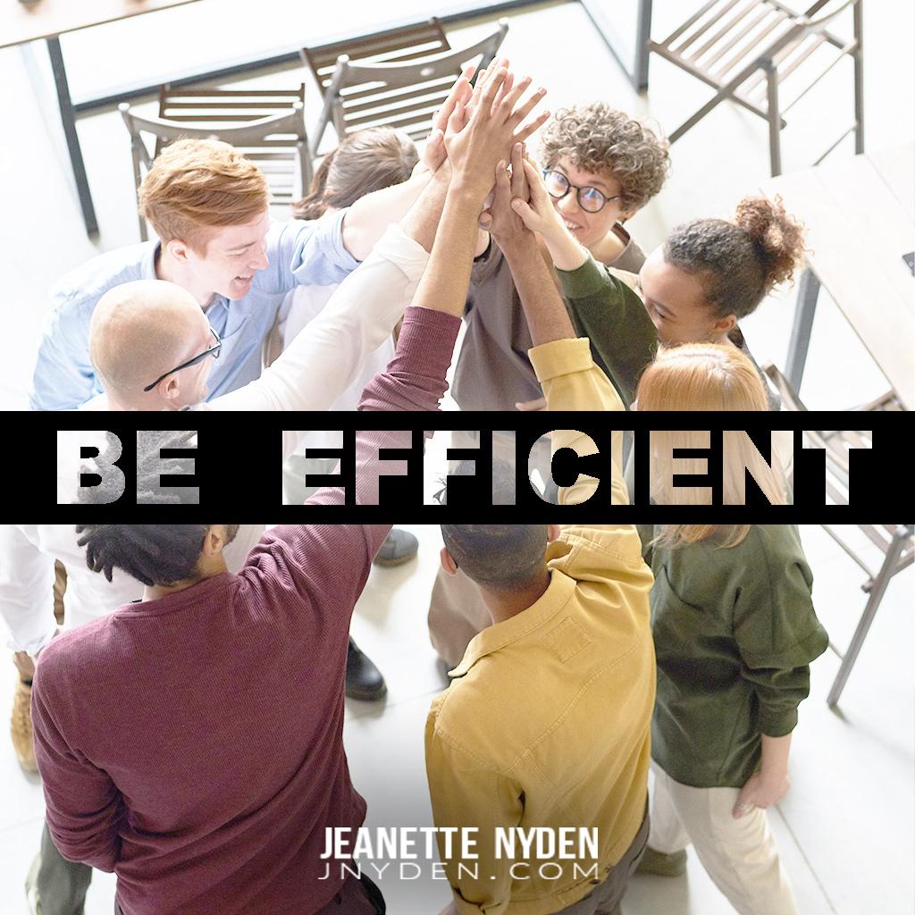 Be efficient. #JeanetteNyden #NydenonNegotiation #graphic #efficiency #negotiators #contractprofessionals #negotiate #contrats https://t.co/TnydnhKpxT