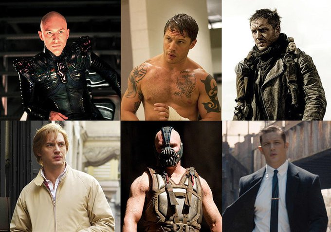 Happy birthday to English actor and producer Tom Hardy, born September 15, 1977.