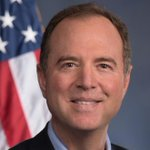Image for the Tweet beginning: Adam Schiff speaks @ our