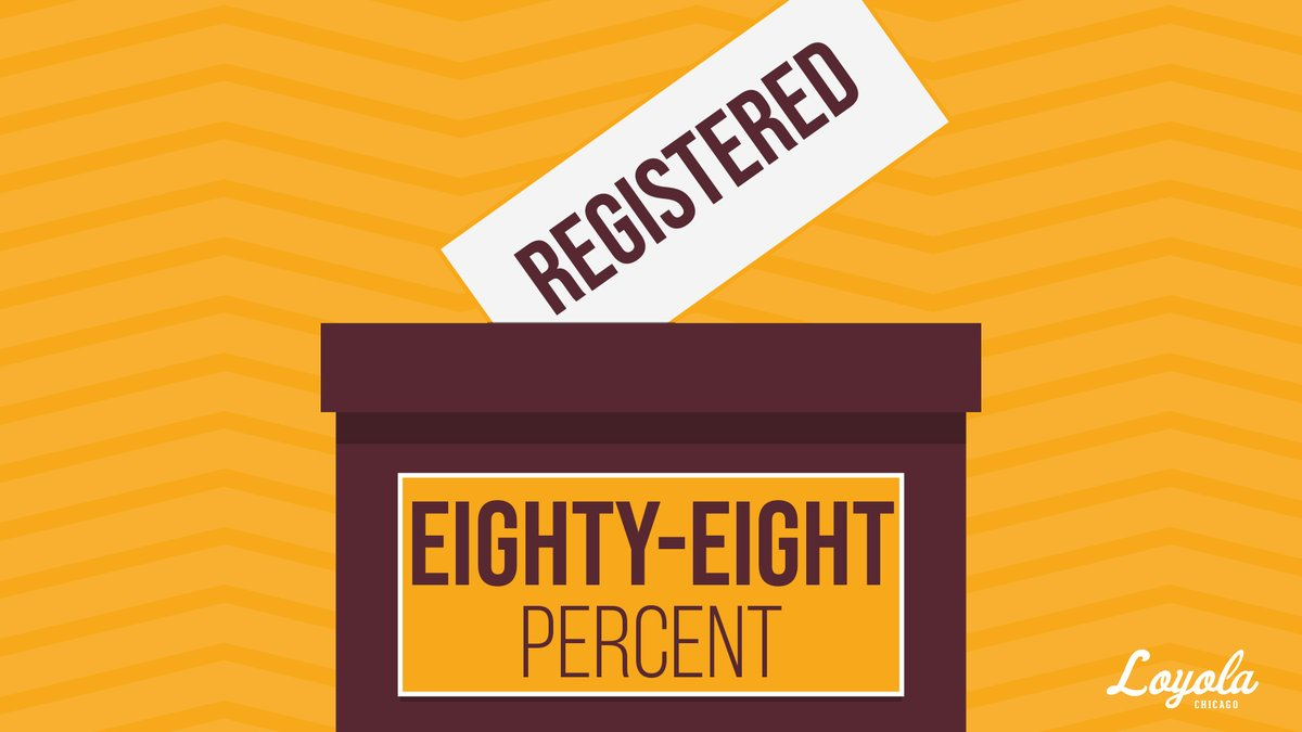 88% of our athletes are 𝐫𝐞𝐠𝐢𝐬𝐭𝐞𝐫𝐞𝐝!  Let's get to 100% before National Voter Registration Day on 𝐒𝐞𝐩𝐭𝐞𝐦𝐛𝐞𝐫 𝟐𝟐!   Resources 👉 https://t.co/ZDMeA0DvVU  #RambleToThePolls https://t.co/Qhu4A01xnV