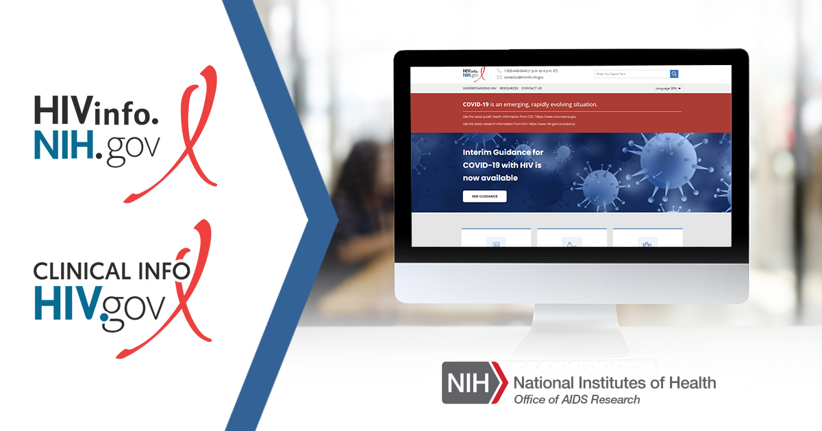 Effective September 14th, @AIDSinfo & @InfoSIDA are now maintained by @NIH_OAR & @HIVgov. Visit https://t.co/s30oBcJyf2. Check out a new harmonized appearance that complements the previous @NLM_HIV version. The HIV Clinical Guidelines can be found at https://t.co/sqFWkOqQNb. https://t.co/4i6hvZxrlo
