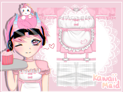 Pink Maid Outfit Roblox O O Liz On Twitter Another Commission Finished 3 Kawaii Maid Outfit This One Was For Goinglimited As You Can See In The Drawing Below Lololol Shirt Https T Co Emioeiuca9 Pants Https T Co Cmhpwgebab Ps The Drawing