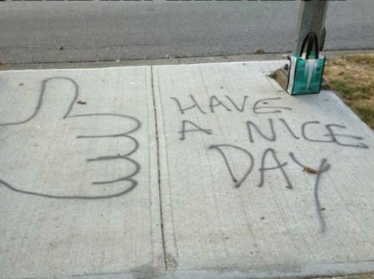 Canadian vandalism
