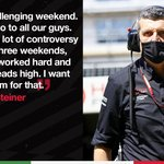 """""""It was an exciting race again. I think we create a lot of the excitement, but in the wrong way for us.""""  Guenther recaps a busy few weeks on track 👉 https://t.co/qEUDESCZAa  #HaasF1 #TuscanGP"""