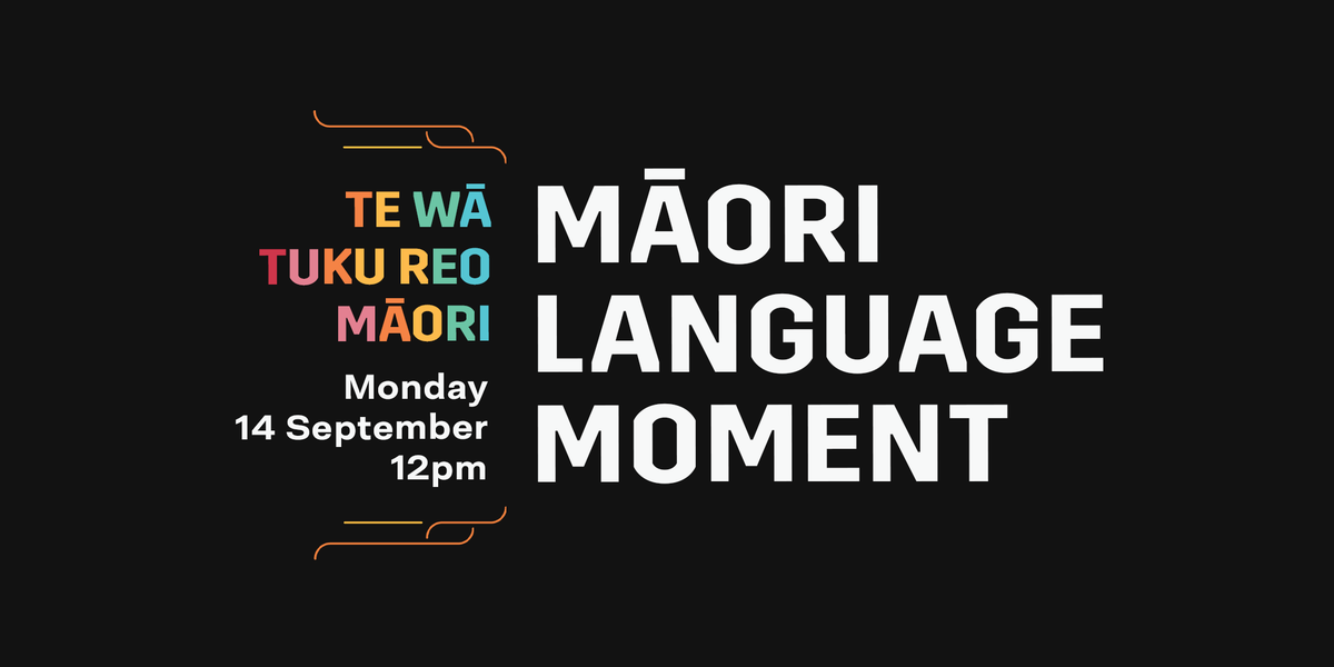 It's Te Wiki o te @reomaori | #MāoriLanguageWeek & we're celebrating te #ReoMāori by joining in on the Māori Language Moment. At midday, we'll gather with our hoa to perform a waiata and karakia at the airport, & if you're inside the terminal, you'll hear te reo music playing. https://t.co/rRvEGJDS4c