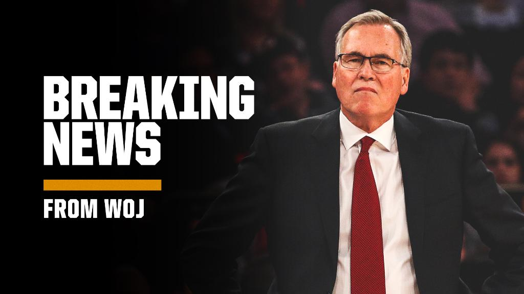 The Mike D'Antoni era in Houston has come to an end. (via @wojespn)