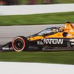 Checkered flag waves on Race 2 at Mid-Ohio! 🏁🏁  @PatricioOward ➡️ P9 @Oliver_Askew ➡️ P15  @ArrowGlobal // @McLarenF1 // #INDYCAR