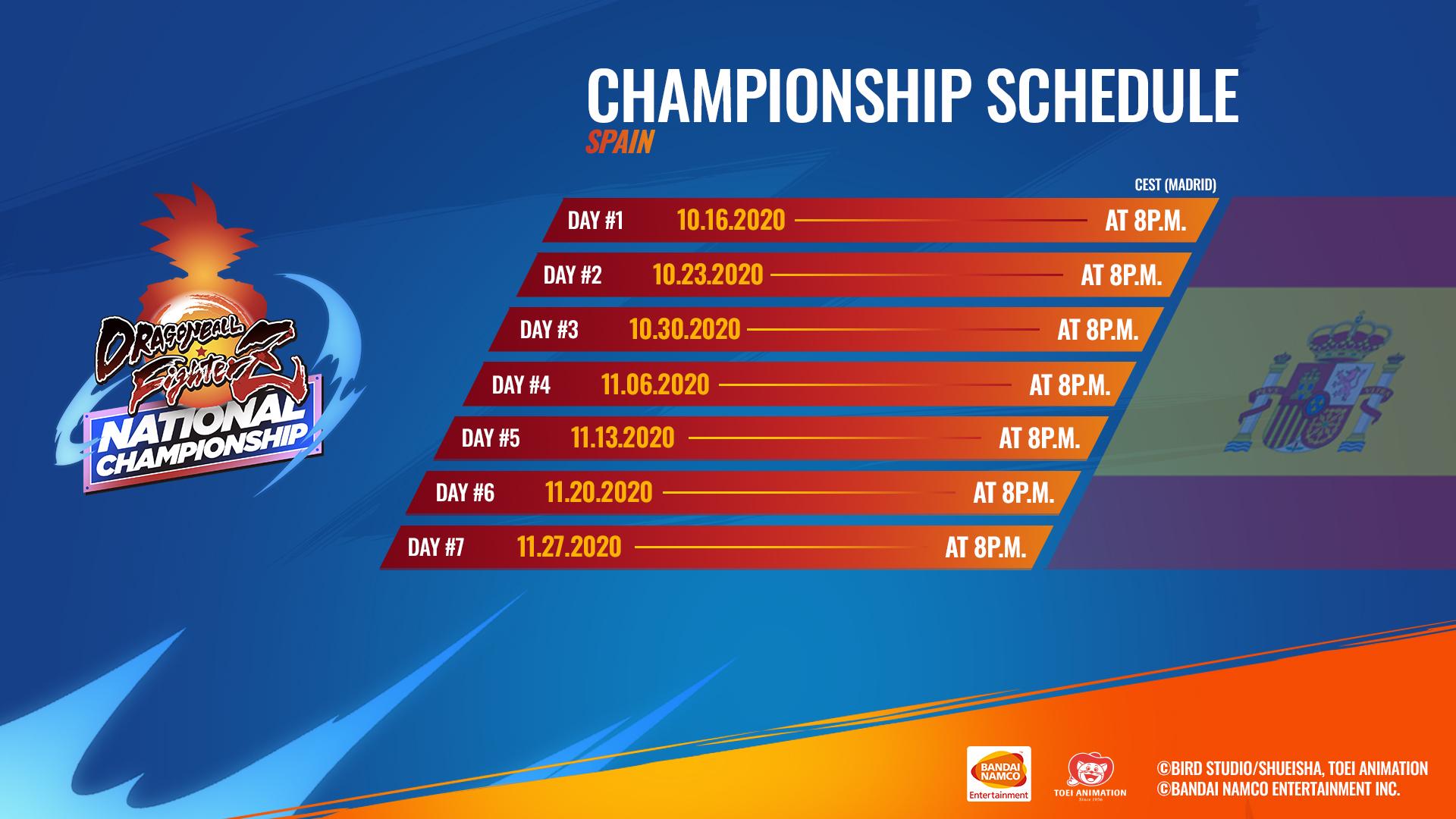 Participantes Spanish National Championship DBFZ