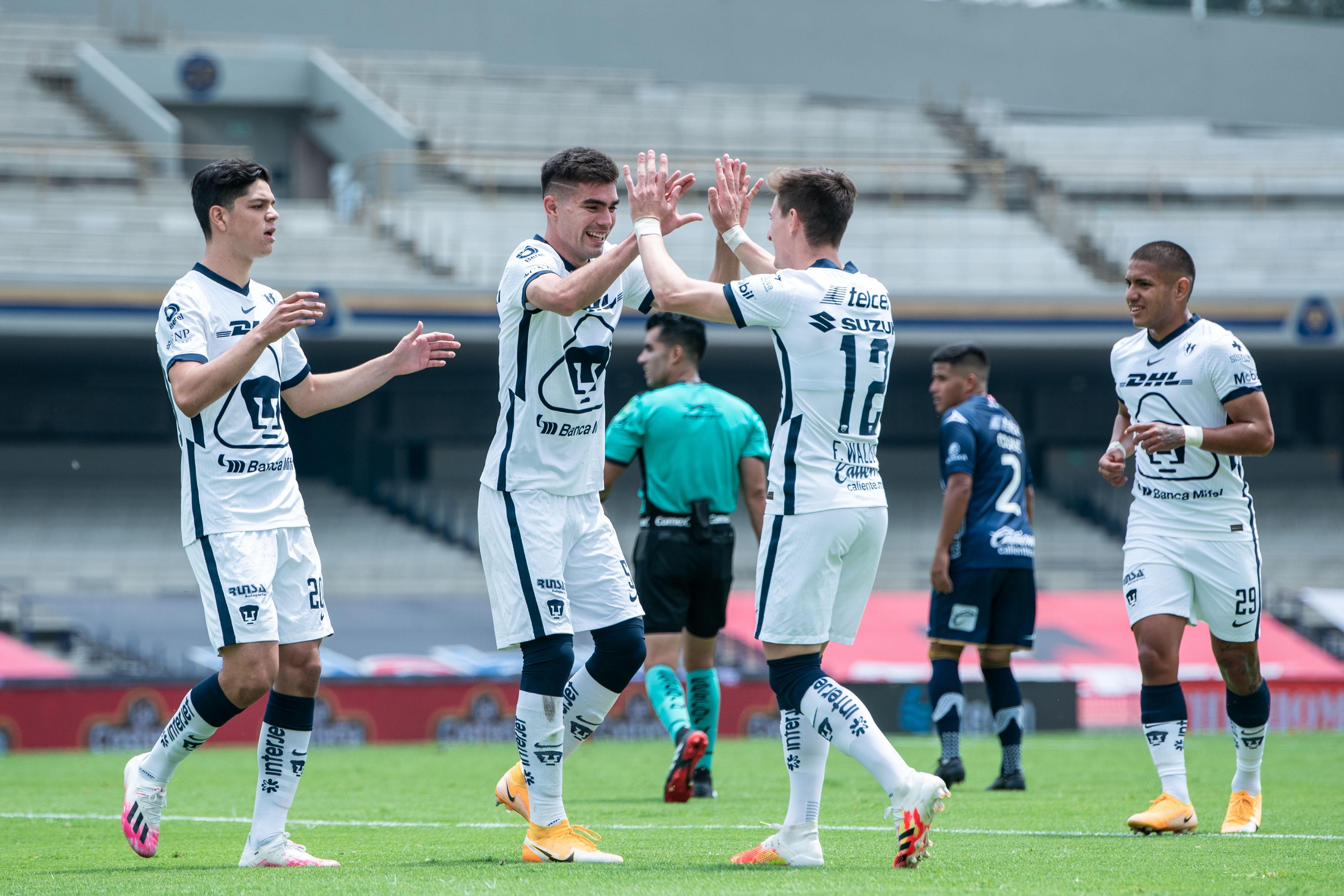 Pumas golea a San Luis y retoma el liderato del Guard1anes 2020, los Universitarios siguen sin perder en el toreno